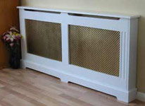 Elegant Classic - Fluted with Brass Effect MDF Grilles